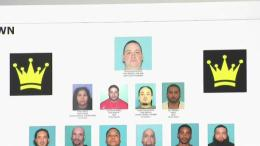 Dozens of Suspected Gang Members Arrested