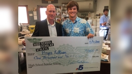 Bryce Killian is Wingstop's Scholar Athlete