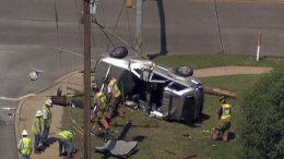 One Killed in 3-Car Crash in Arlington