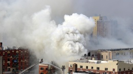 Dramatic Images: NYC Building Collapse