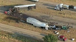 3 Dead After Head-On 18-Wheeler Crash in Royse City