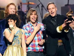 Gaga Reinvents Herself, Arcade Fire Wins Best Album at 2011 Grammys