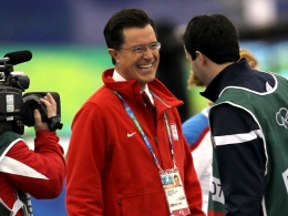 Colbert Nation Arrives at the Olympics