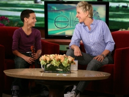 """Ellen"" Visit Pays Off for Violin Prodigy"
