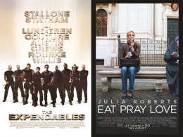 "This Week on Home Video: ""Eat Pray Love"" Among the ""Expendables"""