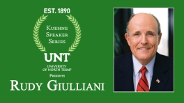 UNT Kuehne Speaker Series: Rudy Giuliani