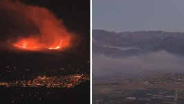 New Evacuations Ordered as California Fire Continues to Burn