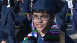 """""""This Isn't Much of a Big Thing For Me"""": Boy, 11, Graduates From College"""