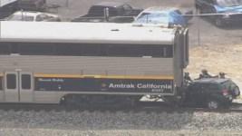 Amtrak Train Crashes Into SUV, Killing Mother, Child