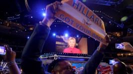 'Change-Maker' Clinton Wins Historic Nomination