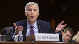 Gorsuch Calls Trump's Attacks on Judges 'Disheartening'