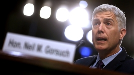 Gorsuch Pushes Back on Student's Maternity Leave Letter