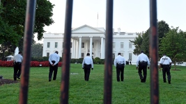 Person Arrested Scaling White House Fence: Secret Service