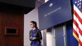 Hope Hicks Tapped as Interim WH Communications Director
