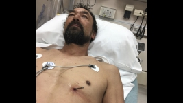 Man Drives Himself to Hospital With Nail in His Heart