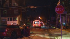 1 Dead, 20 Hurt After Car Strikes Trolley Bus