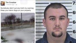 Hunt Co. Fireman Arrested After Facebook Post of Dead Dogs