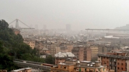 Italian Bridge Collapse Sends Cars Tumbling, Killing 39