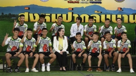 Out of Hospital, Soccer Team Describes Thai Cave Ordeal
