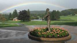 Rainbows Shine Before, After Arnold Palmer's Funeral