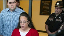 Kim Davis' Lawyers Say Altered Marriage Licenses Are Valid