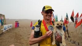 Ultra-Marathon Runner Reunited With Missing Stray Dog