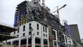 2 Dead, 1 Missing After Hotel Collapse in New Orleans