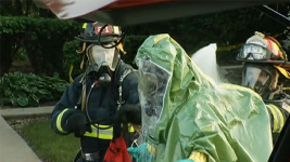 2 Dead, 4 Officers Injured in Mysterious Hazmat Situation