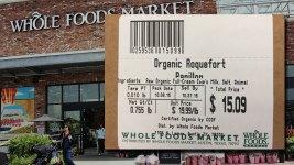 Whole Foods Recalls Organic Roquefort Cheese