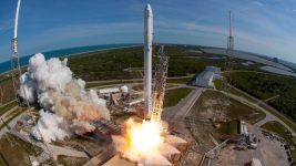 SpaceX First Recycled Rocket Soars With Recycled Capsule