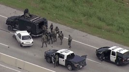 Chase Ends in Crash With FW SWAT
