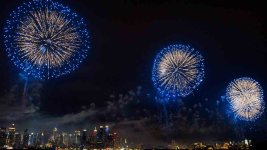 'It's Thundering': The View From a NYC Fireworks Barge on July Fourth