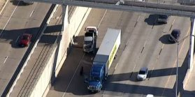 NB I-35W in Fort Worth Reopens After Crash