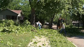 McKinney Cleans Up After Severe Weather