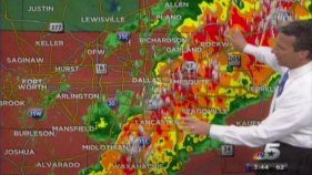 Severe Storm Pushes Through Metroplex