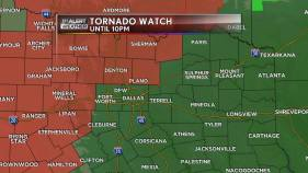 Tornado Watch Issued Until 10 P.M.