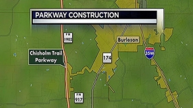 Chisholm Trail Parkway Project Brings Road Closures