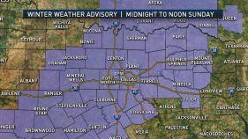 Live Radar: More Rain, Ice in DFW
