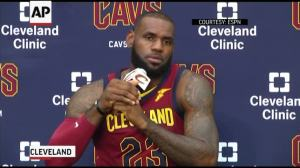 Lebron James: Trump Trying to 'Divide Us'
