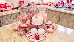 Dallas Woman's Home Oozes Love on Valentine's Day