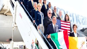Pope's American Airlines Flight Crew Revealed