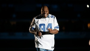 Charles Haley and Tim Brown in Hall of Fame