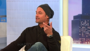 Josh Holloway Talks to Harry About How He Met His Wife
