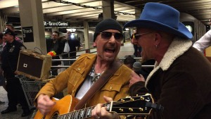 WATCH: U2 Performs in NYC Subway in Disguise