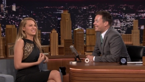 """Blake Lively Plays """"Say Anything"""" With Jimmy Fallon"""