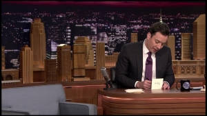 Watch: Jimmy Fallon Thank You Notes