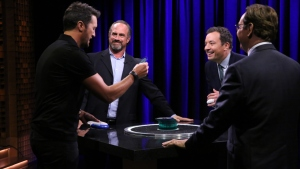 'Tonight': Playing Catchphrase with Luke and Chris