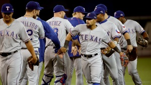 Rangers v. Blue Jays - ALDS Game 1
