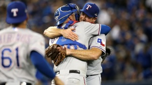 Rangers v. Blue Jays - ALDS Game 2