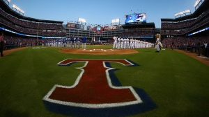 Rangers v. Blue Jays - ALDS Game 3